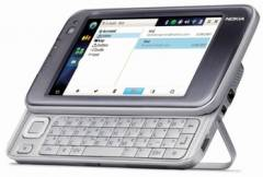 Nokia N810 Internet Tablet promo shot